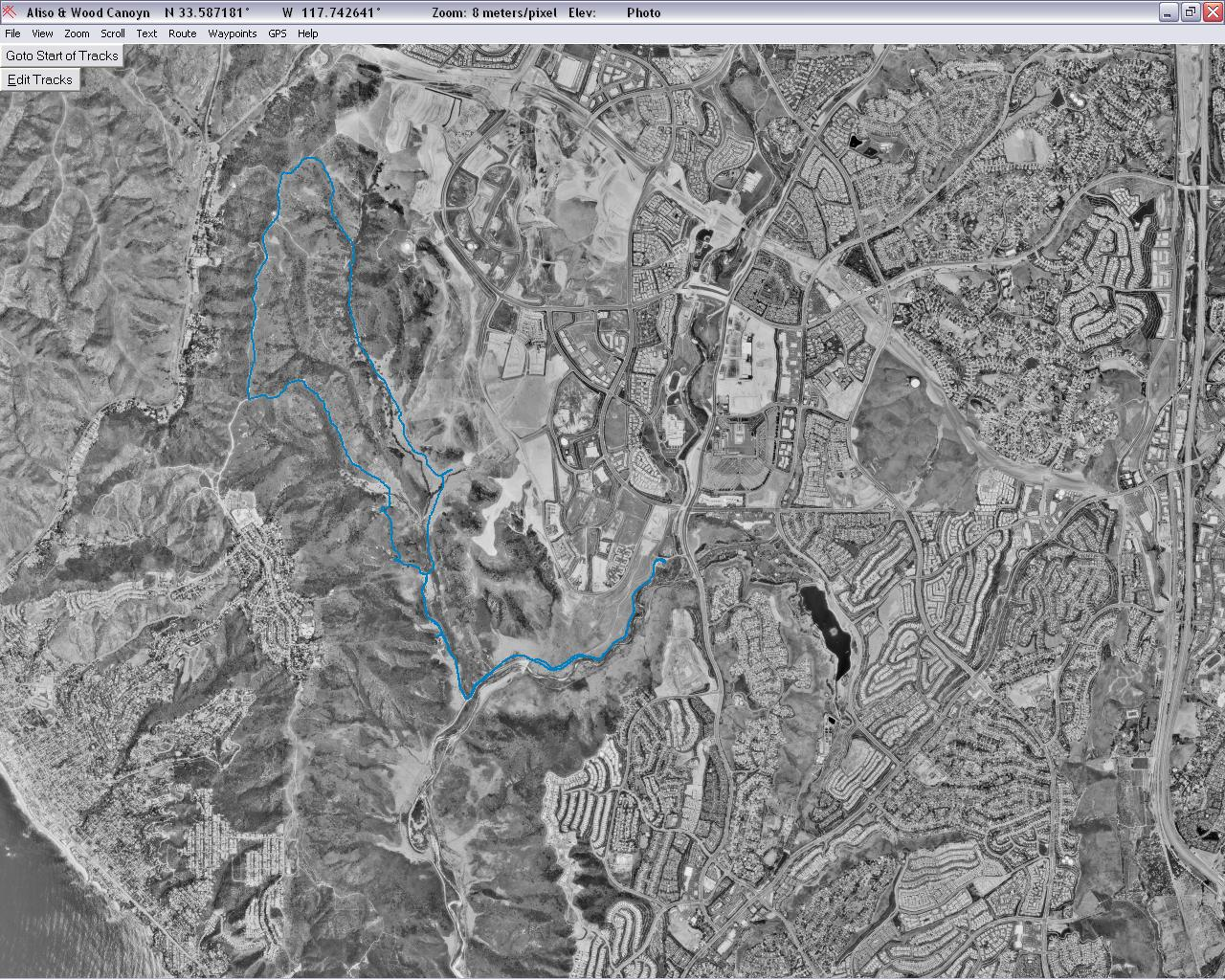 Current Image is BFelsted/Aliso_Crieek_Trail_Sat.JPG Clicking here will display Aliso_Crieek_Trail_topo_3D.JPG
