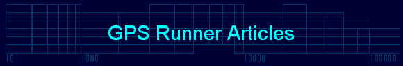 GPS Runner Articles